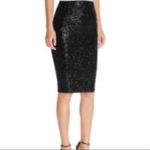 c920c955eb Byron Lars Skirts - Byron Lars Beauty Mark black sequin pencil skirt